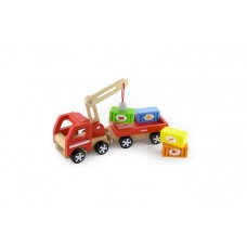 Delivery Truck with Crane